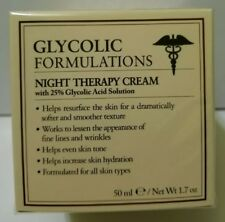 Glycolic Formulations Night Therapy Cream 25% Acid Italy Moisturizer Solution