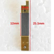CLOCK SUSPENSION SPRING TOP QUALITY STEEL BRASS 25.50mm x 4mm x 12mm - CS58132
