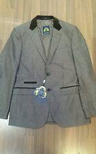 Mens designer Marc Darcy Harrington tweed blazer Ronny Tan size 36R sale cheap