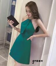 Choker Dress Plain (JLH) Green