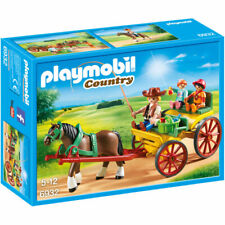 PLAYMOBIL Horse Drawn Wagon - Country 6932