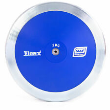 2kg High Spin Discus, 80% Rim Weight – Official Track & Field Throwing Discus