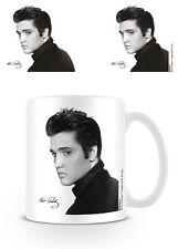 Officiel elvis presley-noir & blanc portrait-coffret céramique boxed mug