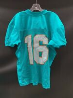 #16 MIAMI DOLPHINS GAME USED AQUA NIKE PRACTICE JERSEY 2018 SIZE-46