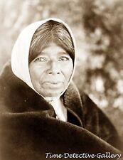 Native American Wappo Woman, California - Historic Photo Print