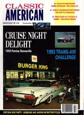 CLASSIC AMERICAN CARS Magazine. #23 Feb 1993 - 1959 Pontiac Bonneville