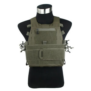 TMC3385-RG New ASPC Tactical Vest 500D Cordura M Size
