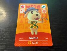 Goldie - Animal Crossing Amiibo Card - Amiibo Festival - Near Mint NM Unscanned