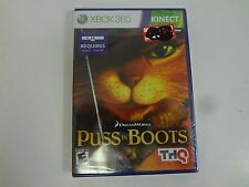 PUSS IN BOOTS MICROSOFT XBOX 360 **FREE SHIPPING**NEW SEALED