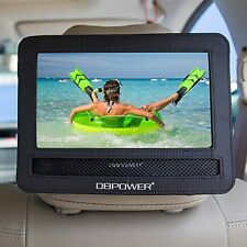 "10""/10.5"" Car Headrest Mount Holder Strap Case Swivel Flip Style DVD iPad Player"