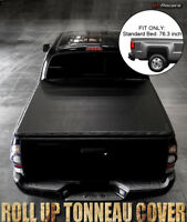 """For 2009-2018 Dodge Ram 1500/2500 6.5 Ft 76"""" Bed Lock & Roll Soft Tonneau Cover"""
