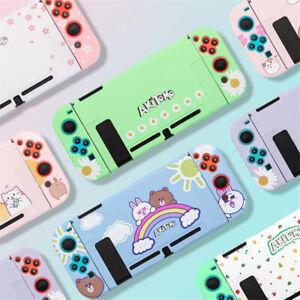 Kawaii Cute Case Cover for Nintendo Switch Console Joy-Con Sakura Fruit Cat Bear