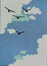 Quality Metal Cutting Die, Seagulls Birds & Clouds, Card Making **UK SELLER** A4