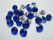 1000 Diamond Confetti 10mm Wedding Table Scatter-Blue