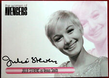The Women Of The Avengers - JULIE STEVENS - Personally Signed Autograph Card