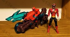 "Power Rangers Samurai ""Shark Sword Cycle w/Shark Attack Ranger Fire"" (Complete)"