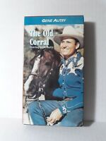 The Old Corral Starring Gene Autry (VHS video tape, 1992) 1936 Western Movie