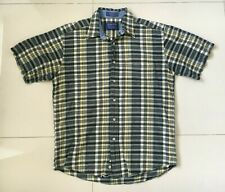Pendleton Mens Check Seaside Shirt Short Sleeve - Size Medium