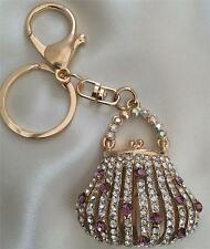 Unbranded Gold Costume Handbag Jewellery & Mobile Charms