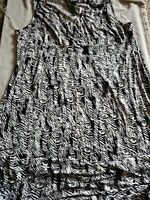 Apt. 9 Women's Size 3X Black & White Maxi Sleeveless Dress.  C14