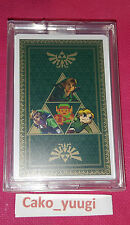 JEU DE CARTE THE LEGEND OF ZELDA JAP PLAYING CARDS 2011 NINTENDO 100% OFFICIEL