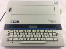 Smith Corona XD 5500 Memory Electric Portable Spell Right Dictionary Typewriter