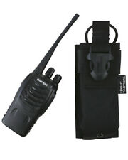 GPS Radio Pouch Black Molle Security Police Patrol