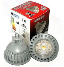 12 V / 230 V Hochvolt / Niedervolt GU10 / MR16 / GU5.3 Power LED 5 Watt = 50Watt