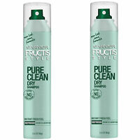 Pack of (2) New Garnier Pure Clean Dry Shampoo, 3.4 Ounce