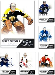 2010-11 Panini All Goalies **** PICK YOUR CARD **** From The SET