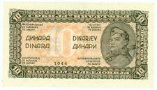 Yugoslavia ... P-50a ... 10 Dinara ... 1944 ... *UNC*