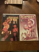 Zombies vs Cheerleaders 1, and 2C. HTF issue 2