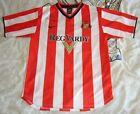 Sunderland football shirt Home L Youth US 14-16 EU 152-158 2000 2002 Nike signed