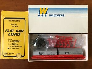 Walthers HO Cushion Coil Car Kit with Stewart Metal Strip Coils