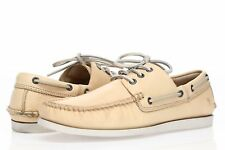 FRYE Mens Beige Leather Slip On Loafers Sz 9.5
