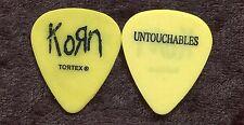 Korn 2002 Untouchables Tour Guitar Pick! custom concert stage Pick #3