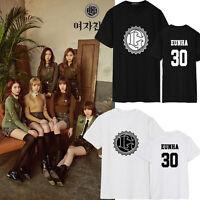 KPOP GFRIEND THE AWAKENING T-shirt Unisex Ye Rin Eun Ha Tshirt Cotton Yu Ju Tee