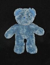 Peluche doudou ours AJENA bleu long poil 21 cm TTBE