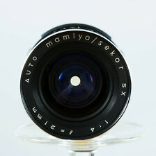 Extremely RARE! Mamiya AUTO SEKOR SX 21mm f/4 MF Lens M42 Screw Mount