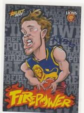 2013 SELECT CHAMPIONS CARICATURE FIREPOWER CARD JACK REDDEN FC3
