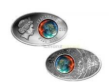 10 $ Dollar Apocalypse Maya Maja Kalender Fiji Silber Silver 2012 Glas Inlay
