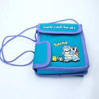 Vtg Gameboy Color Pokemon Blastoise Carrying Case GB6 Nintendo 2000 Teal Purple