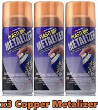 Performix 11236 Plasti Dip Enhancer Copper Metalizer 3 Pack Aerosol Spray Can