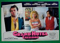 T17 Fotobusta Grand Hotel Excelsior Celentano Abatantuono Greenback Montesano 4