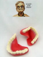 Novelty sweet joke dentures set, retirement anniversary birthday Personalised