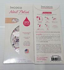 INCOCO Nail Polish Applique Nail Polish Strips MASTERPIECE Set of 2/16 Strip ea