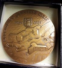 Médaille ASSEMBLÉE GÉNÉRALE DE LA MAIF NIORT 1984 - 80 mm - Monnaie de Paris