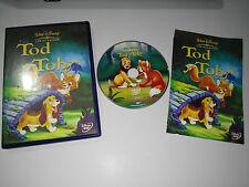 TOD Y TOBY DVD + EXTRAS LOS CLASICOS WALT DISNEY ESPAÑOL ENGLISH