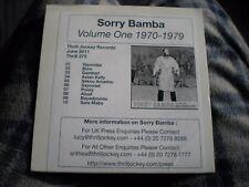 SORRY BAMBA cd VOLUME ONE 1970-1979 (Promo, Jun-2011, Thrill Jockey)