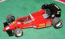 FDS 1/43 costruito a mano Ferrari 126 C4 F1 GP 1984 RENE ARNOUX Auto modello in metallo bianco